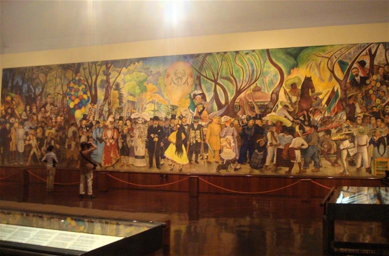 Mural museo entero for Un mural de diego rivera
